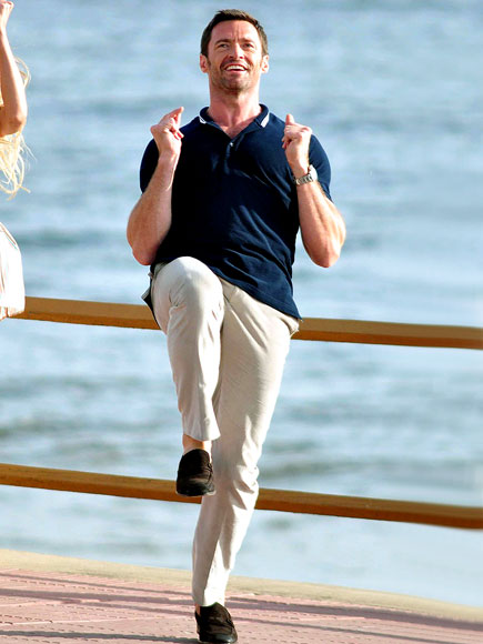 FANCY FOOTWORK photo | Hugh Jackman