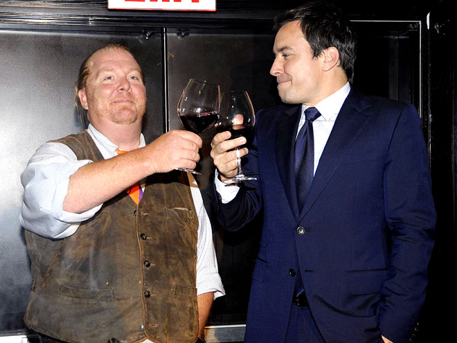 TOAST TIME photo | Jimmy Fallon, Mario Batali