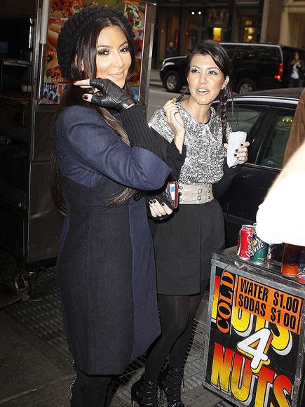 FEELING NUTTY photo | Kim Kardashian, Kourtney Kardashian