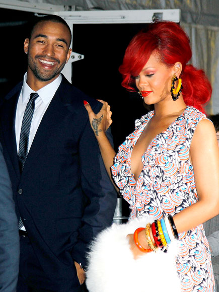 COUTURE COUPLE photo | Matt Kemp, Rihanna