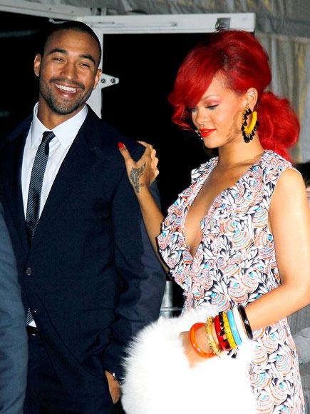 COUTURE COUPLE photo | Matt Kemp, Rihanna
