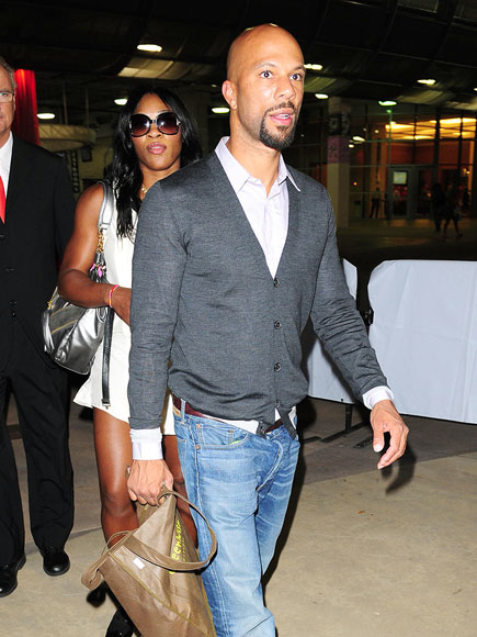 MIAMI HEAT photo | Common, Serena Williams