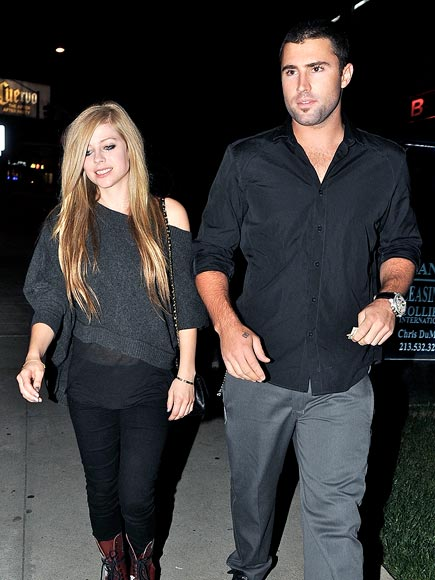 STEAK OUT photo | Avril Lavigne, Brody Jenner