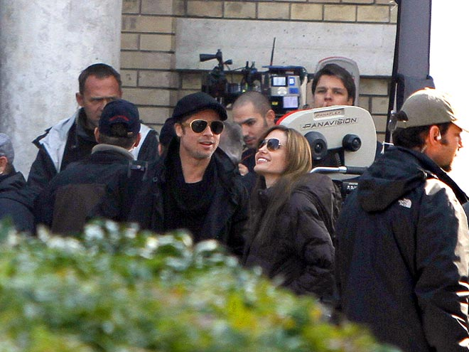 HUNGARY PARTNER photo | Angelina Jolie, Brad Pitt