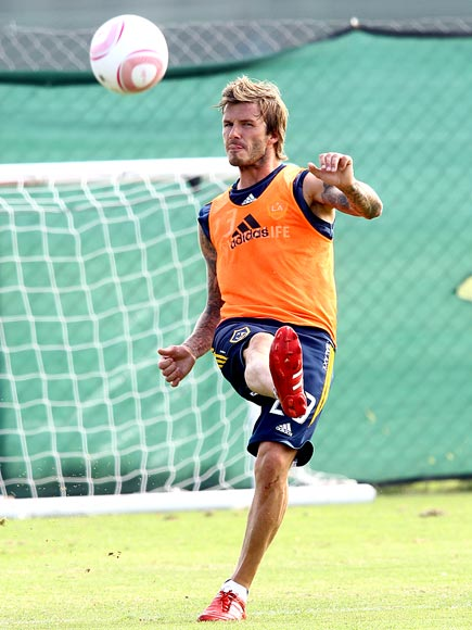 AIR BALL! photo | David Beckham