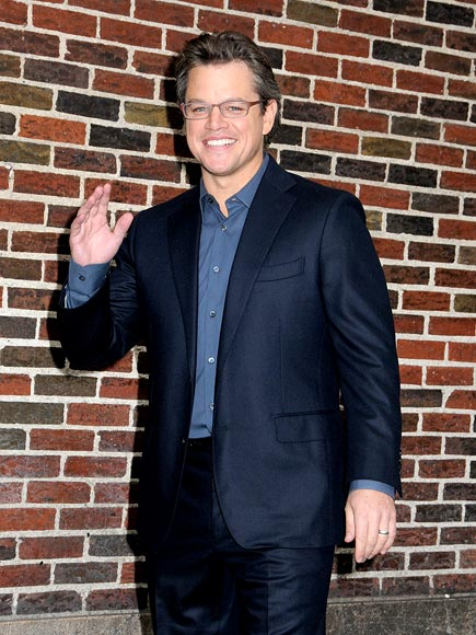 BRICK HOUSE photo | Matt Damon