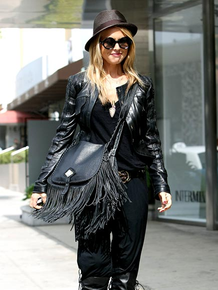 LEATHER BOUND photo | Rachel Zoe
