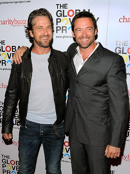 BOSOM BUDDIES photo | Gerard Butler, Hugh Jackman