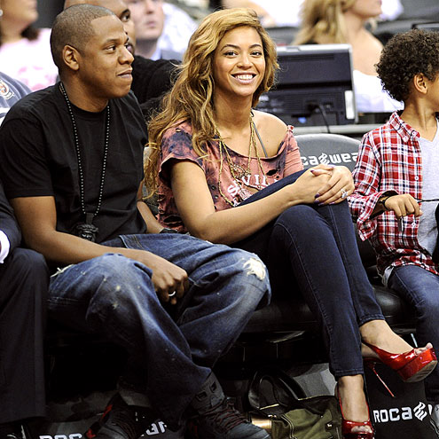THEY'RE GAME! photo | Beyonce Knowles, Jay-Z