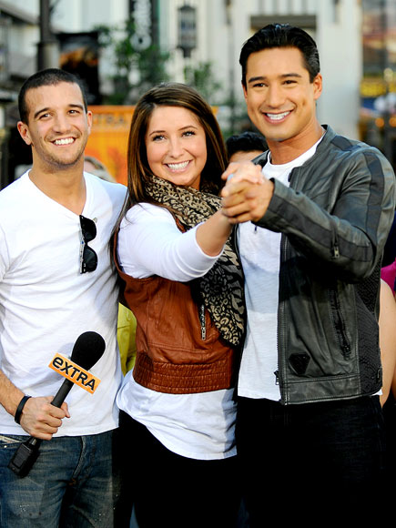 THREE TO TANGO photo | Bristol Palin, Mario Lopez, Mark Ballas