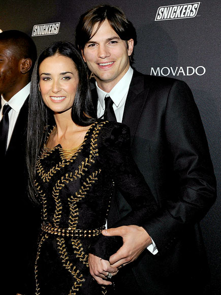 LOOK OF LOVE photo | Ashton Kutcher, Demi Moore