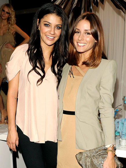 THE SHOW GOES ON photo | Jessica Szohr, Olivia Palermo