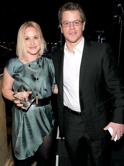 TWO FOR 'ONE' photo | Matt Damon, Patricia Arquette