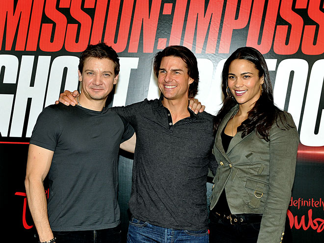 NAME GAME photo | Jeremy Renner, Paula Patton, Tom Cruise