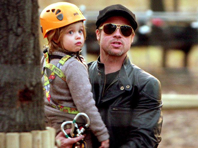 DADDY'S GIRL photo | Brad Pitt, Shiloh Jolie-Pitt