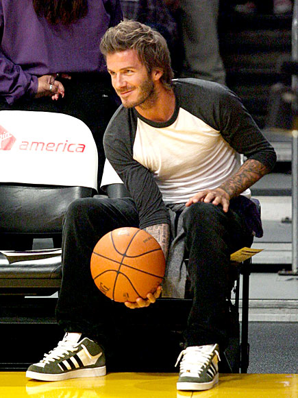 GAME FACE photo | David Beckham
