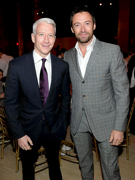 WELL-SUITED photo | Anderson Cooper, Hugh Jackman