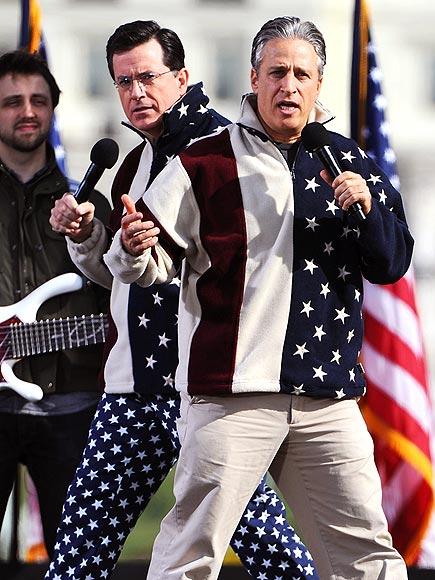 STAR POWER  photo | Jon Stewart, Stephen Colbert