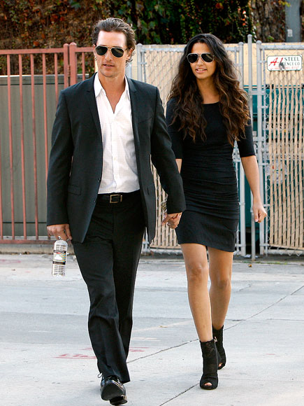 FORMAL AFFAIR photo | Camila Alves, Matthew McConaughey