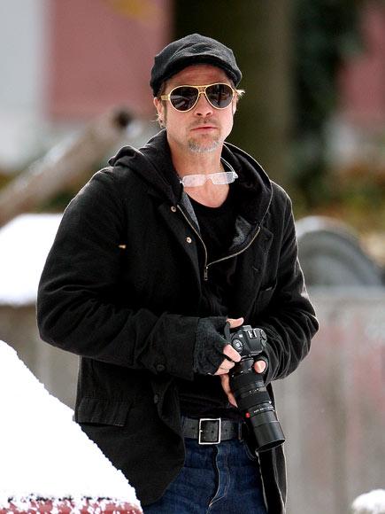 DOUBLE VISION photo | Brad Pitt