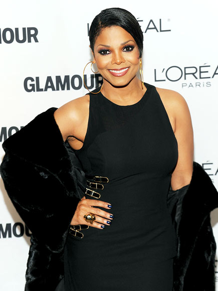 'GLAMOUR' GIRL photo | Janet Jackson