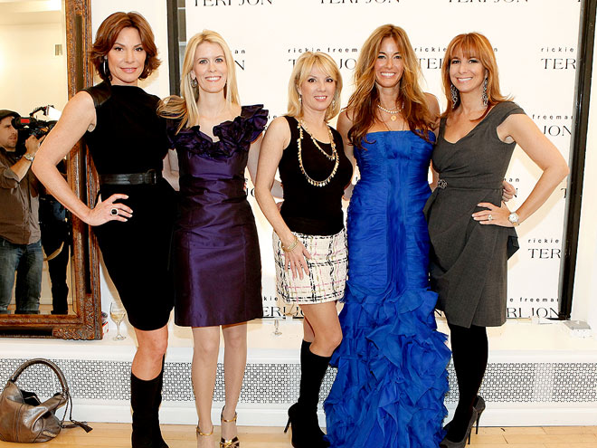 FASHION HOUSEWIVES photo | Alex McCord, Jill Zarin, Kelly Killoren Bensimon, LuAnn de Lesseps, Ramona Singer