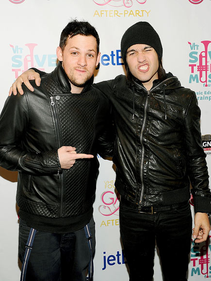 MUSIC MEN photo | Joel Madden, Pete Wentz