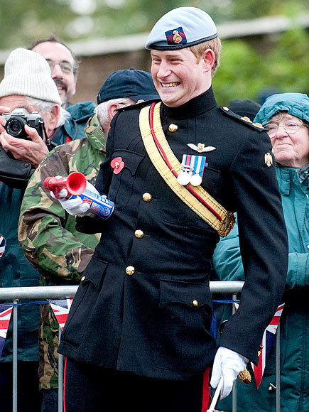 ON THE HORN photo | Prince Harry