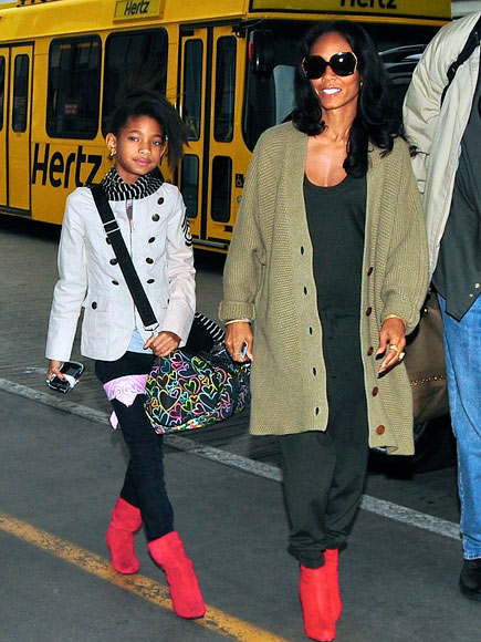TRAFFIC STOPPERS photo | Jada Pinkett Smith, Willow Smith