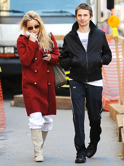 SWEAT SUITORS photo | Kate Hudson, Matthew Bellamy