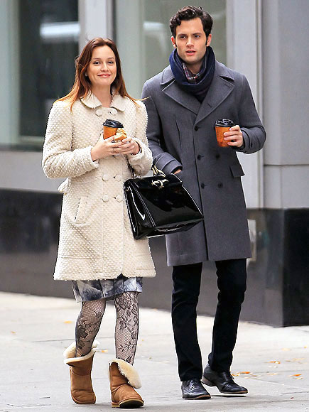 JOE TO-GO photo | Leighton Meester, Penn Badgley