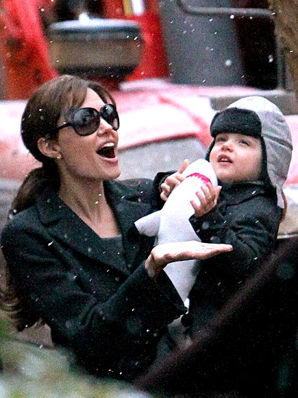 LET IT SNOW photo | Angelina Jolie