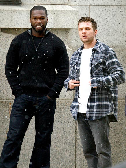 SNOW WHAT? photo | 50 Cent, Ryan Phillippe