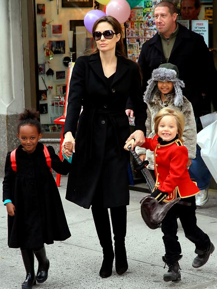 CREATIVE CREW photo | Angelina Jolie, Shiloh Jolie-Pitt, Zahara Jolie-Pitt