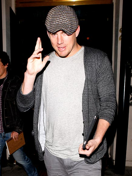 DINNER SALUTATIONS photo | Channing Tatum