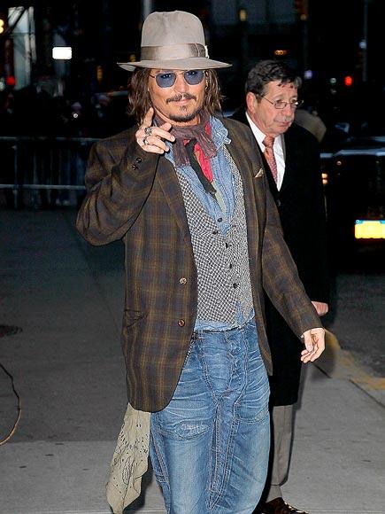POINT & SHOOT photo | Johnny Depp