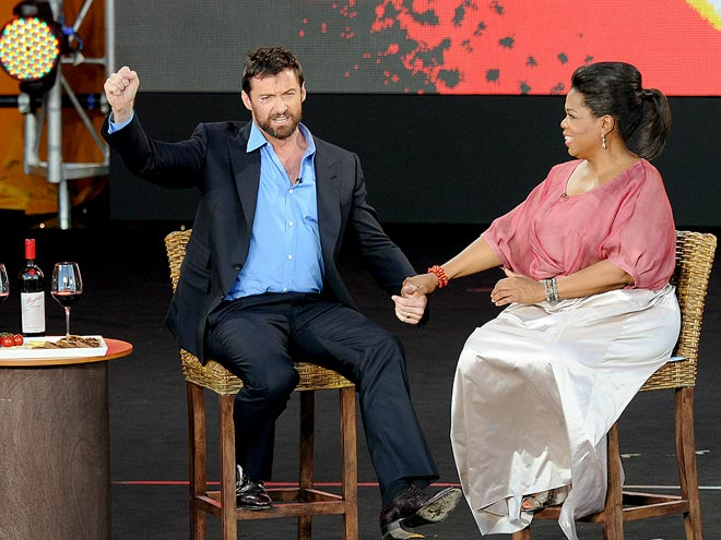 SIGHT FOR SORE EYES photo | Hugh Jackman, Oprah Winfrey
