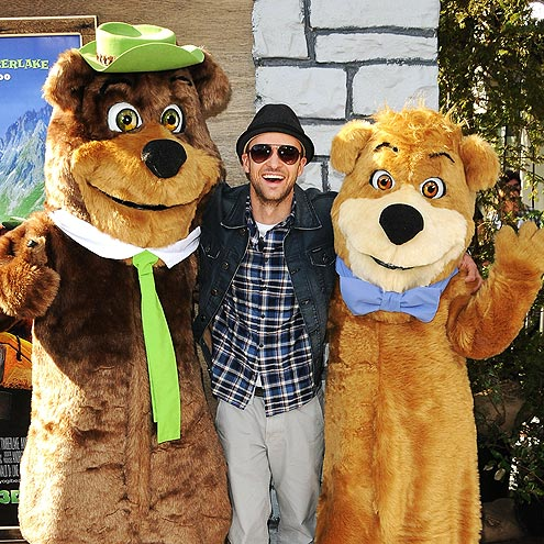 GRIN & BEAR IT photo | Justin Timberlake
