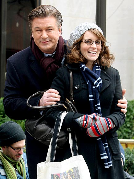 WRAP & ROLL photo | Alec Baldwin, Tina Fey
