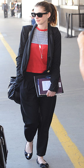 anne hathaway casual style - photo #18