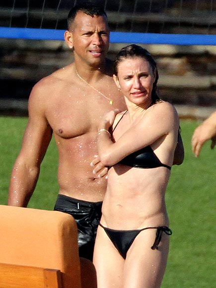 CAMERON DIAZ & ALEX RODRIGUEZ photo | Alex Rodriguez, Cameron Diaz
