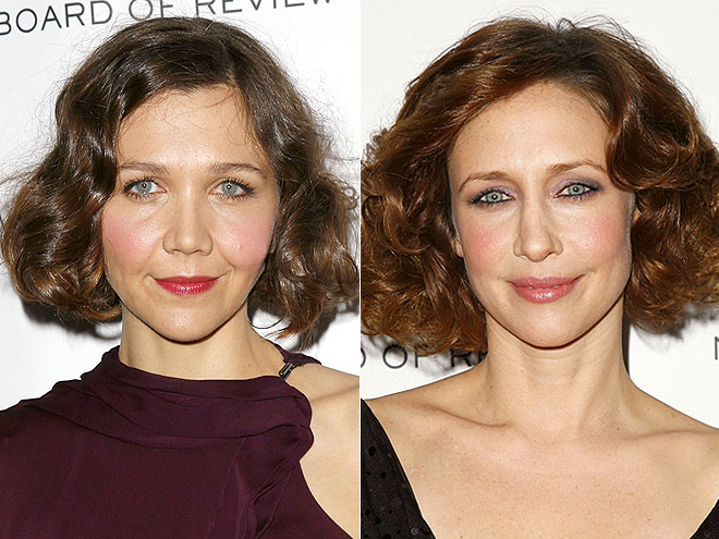 WAVY BOBS photo | Maggie Gyllenhaal, Vera Farmiga