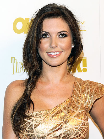 BRAIDED PONYTAIL photo | Audrina Patridge
