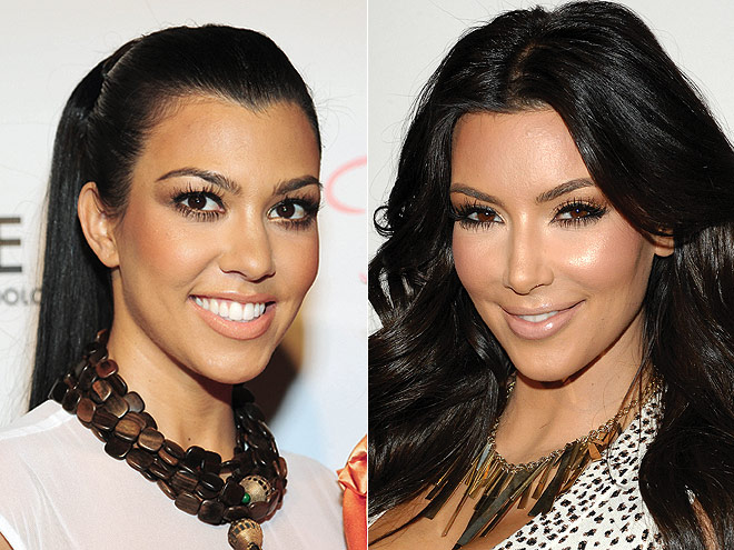 WOW-FACTOR LASHES photo | Kim Kardashian, Kourtney Kardashian
