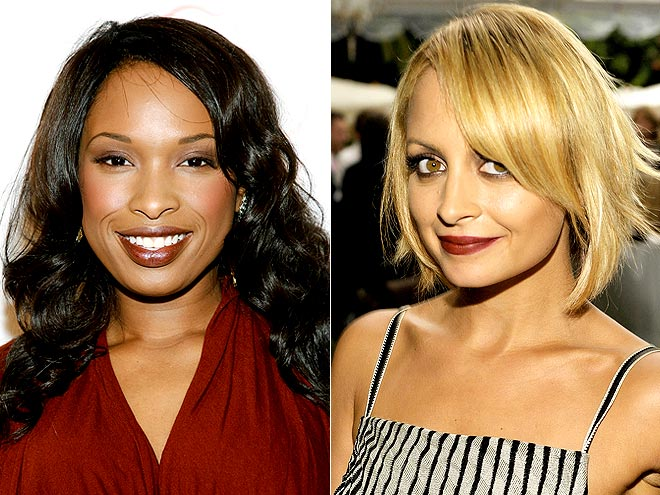 VAMPY LIPS photo | Jennifer Hudson, Nicole Richie