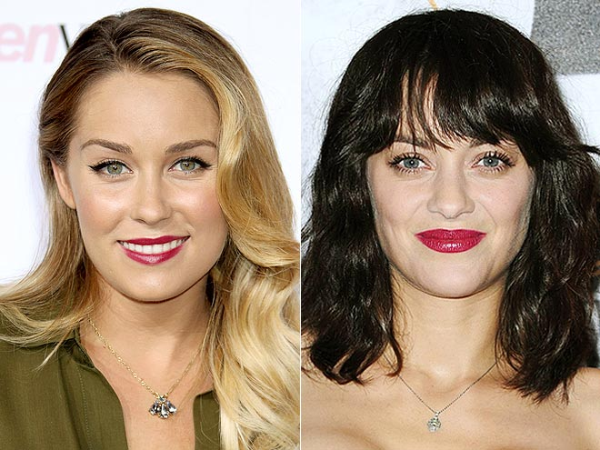 FUCHSIA LIPS photo | Lauren Conrad, Marion Cotillard
