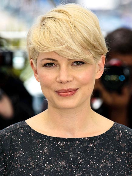 michelle williams short hair cannes. MICHELLE#39;S SHORT CUT photo