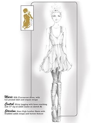 картинки длинный платьев