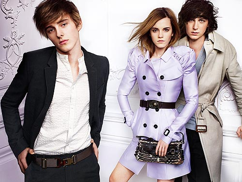 emma watson burberry brother. Emma Watson#39;s Spring/ Summer