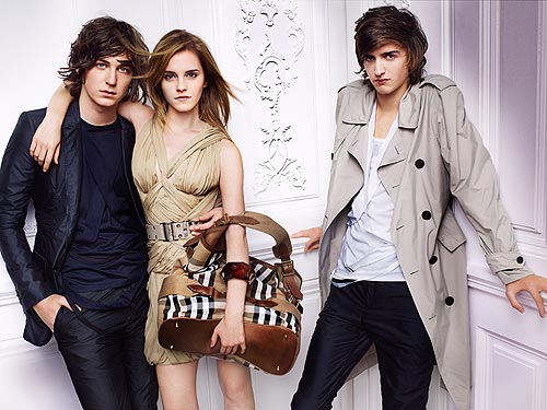 Emma Watson New Images. Emma#39;s latest Burberry ads